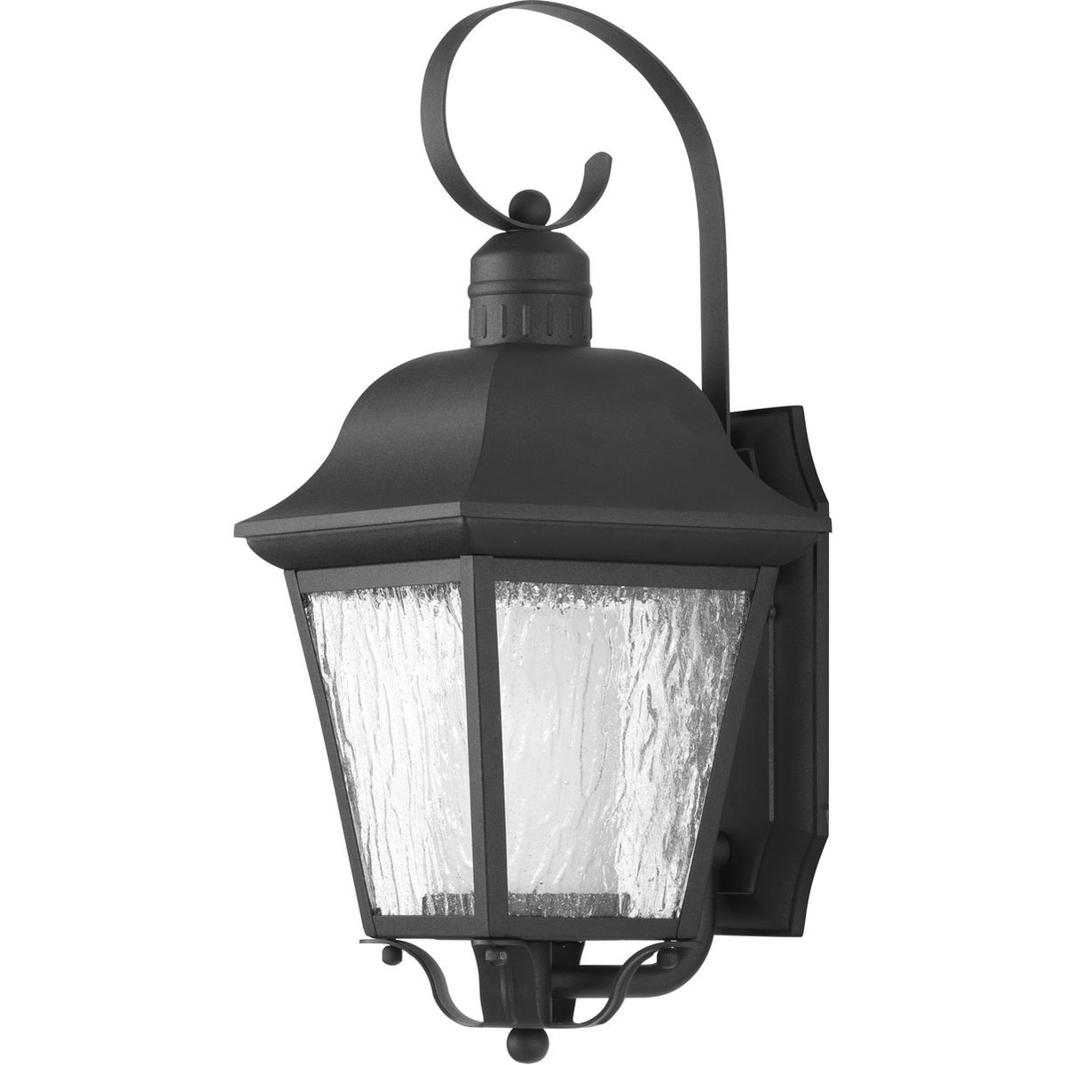 Most Recent Bellefield Black 15'' H Outdoor Wall Lanterns With Regard To Progress Lighting P6620 31md Andover Outdoor Wall Light (View 7 of 15)