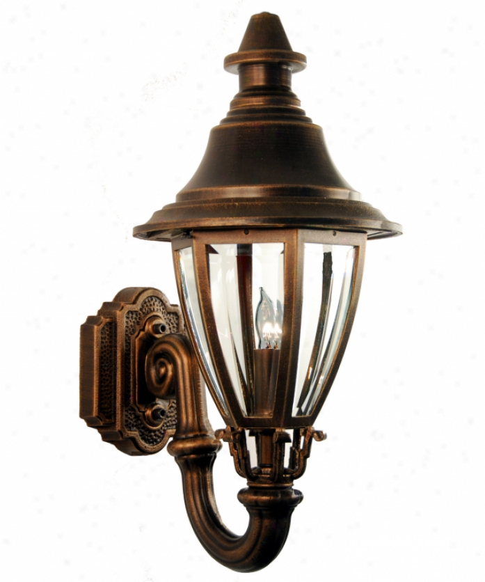 Most Recently Released Bayou 17'' H Beveled Glass Outdoor Wall Lanterns For Hanover Lantern B5720sgn Jefferson Large 4 Light Outdoor (View 7 of 15)