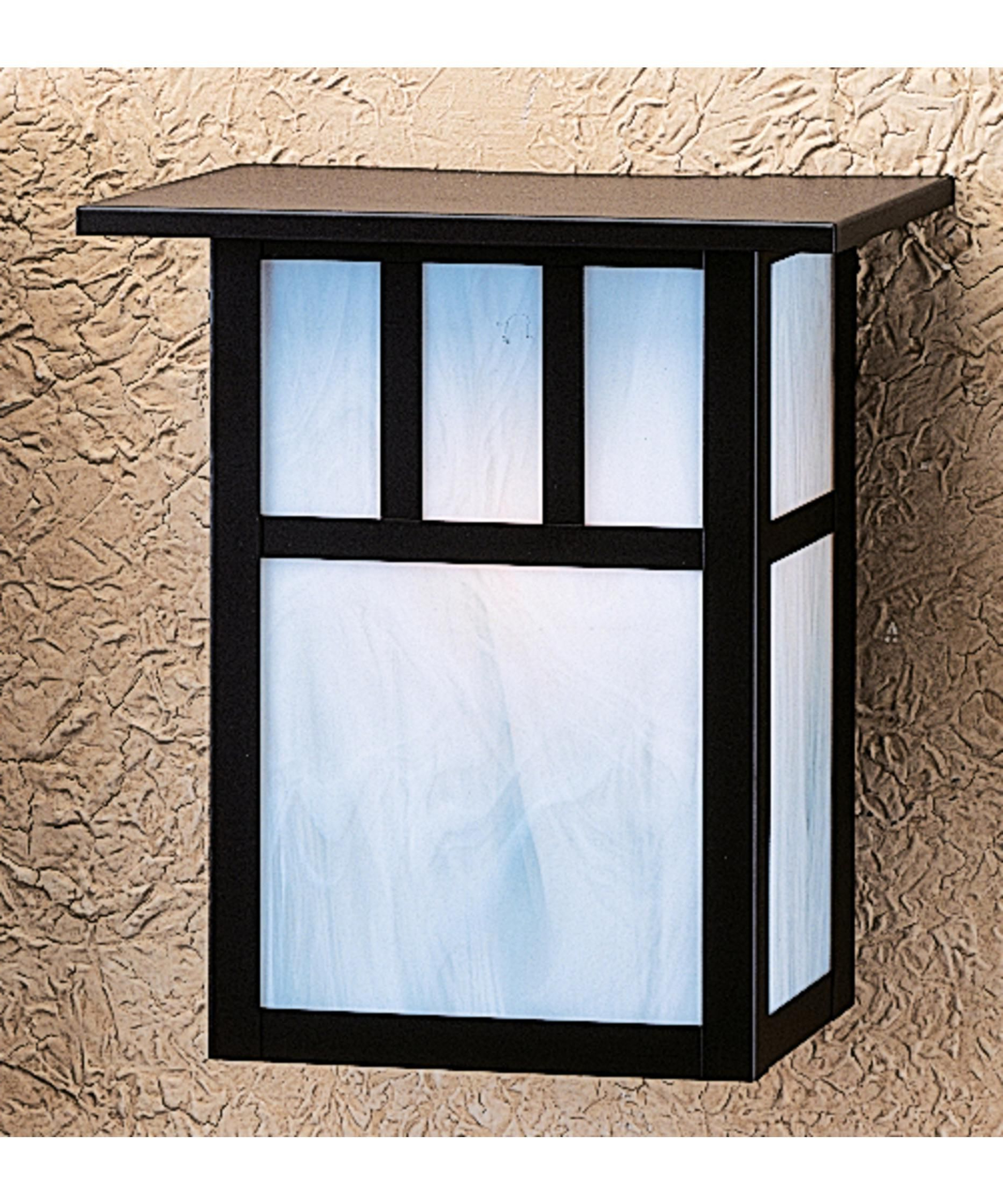 Most Recently Released Clarence Black 10'' H Outdoor Wall Lanterns For Shown In Satin Black Finish, White Opalescent Glass And (View 15 of 15)