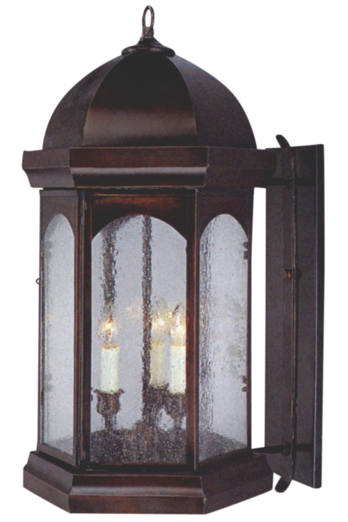 Most Recently Released Cowhill Dark Bronze 15.5'' H Wall Lanterns Intended For Landon Jr (View 4 of 15)