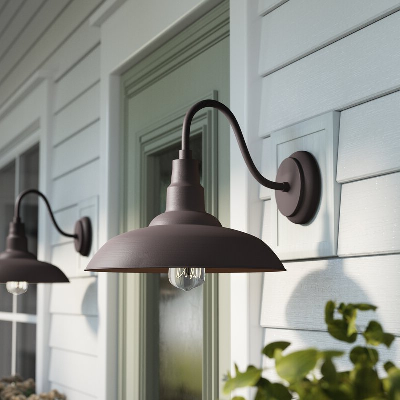 Most Recently Released Download Outdoor Farmhouse Lighting Fixtures Background Within Rickey Black Outdoor Barn Lights (View 8 of 15)