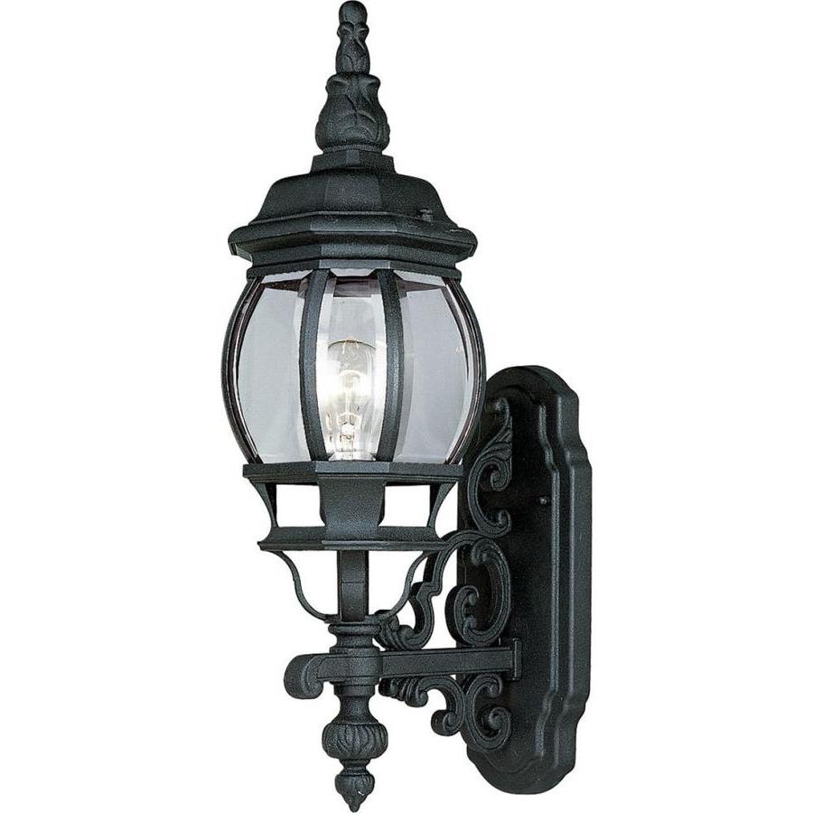 Most Recently Released Garneau Black Wall Lanterns With Regard To Progress Lighting Onion Lantern  (View 6 of 15)