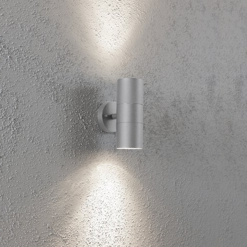 Most Recently Released Konstsmide Modena 2 – Bulb Glass Outdoor Armed Sconce For Edith 2 Bulb Outdoor Armed Sconces (View 9 of 15)