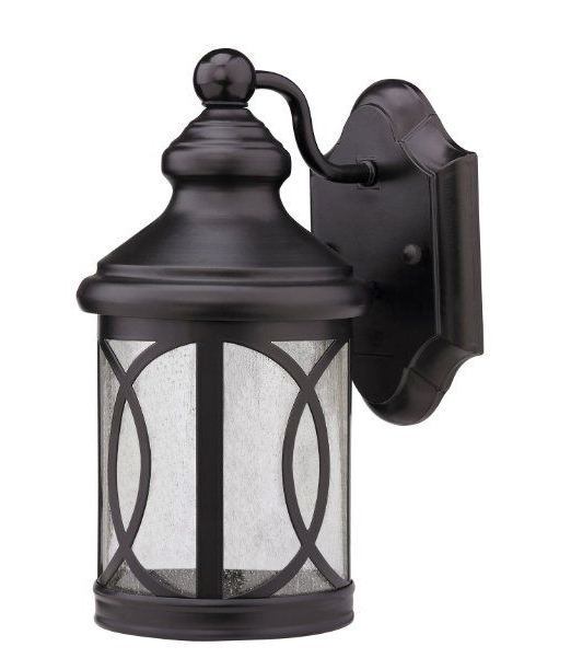 Most Up To Date Clarence Black 10'' H Outdoor Wall Lanterns In $44.94 Chloe Lighting Ch5781 Blk Osd1  (View 11 of 15)