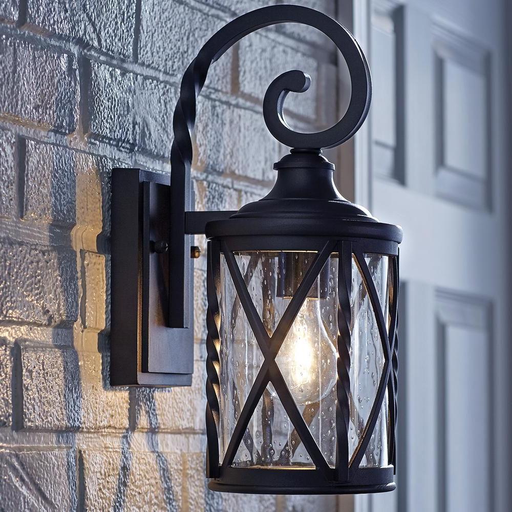 Featured Photo of Meunier Glass Outdoor Wall Lanterns