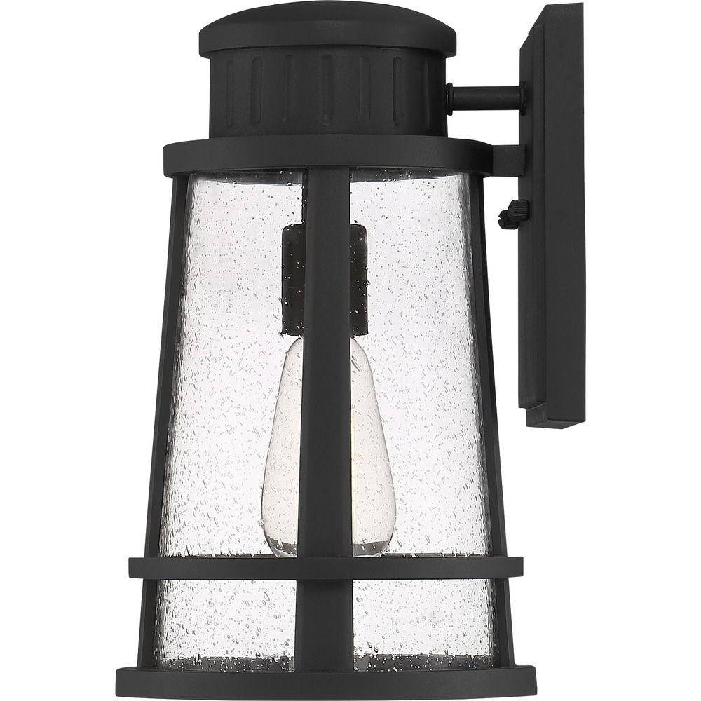 Most Up To Date Quoizel Lighting Dunham Earth Black Outdoor Wall Light In Ainsworth Earth Black Outdoor Wall Lanterns (View 13 of 15)