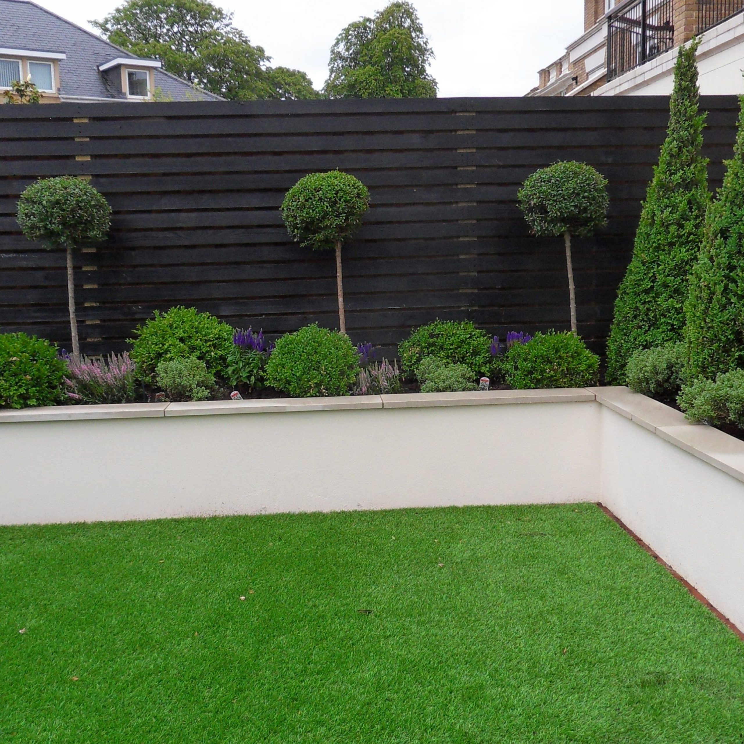 Most Up To Date Rendered Wall With Capping (View 14 of 15)