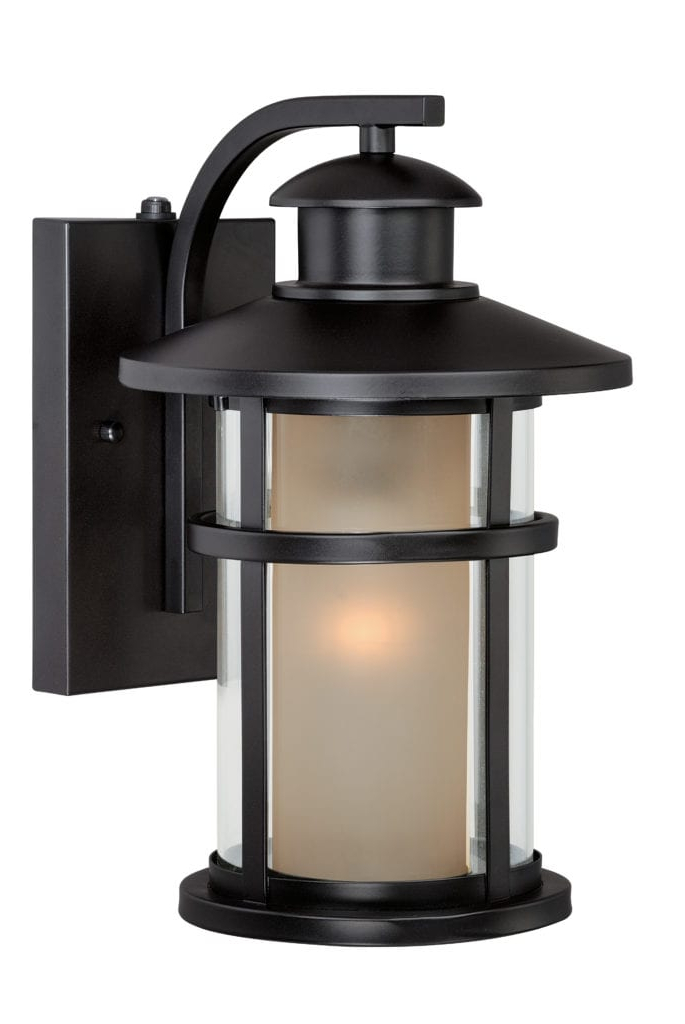 Needham Dark Bronze 17'' H Seeded Glass Outdoor Flush Mount For Trendy Southport  (View 13 of 15)