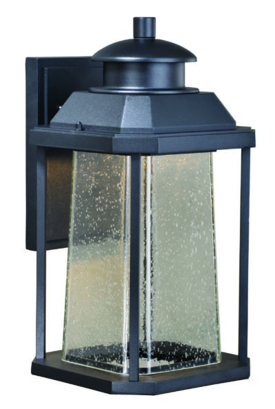 Needham Dark Bronze 17'' H Seeded Glass Outdoor Flush Mount In Preferred Southport  (View 11 of 15)