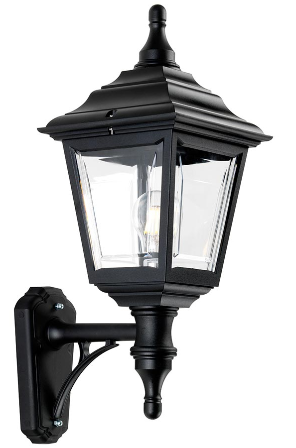 Newest Elstead Kerry Corrosion Proof 1 Light Outdoor Wall Lantern Inside Ciotti Black Outdoor Wall Lanterns (View 8 of 15)