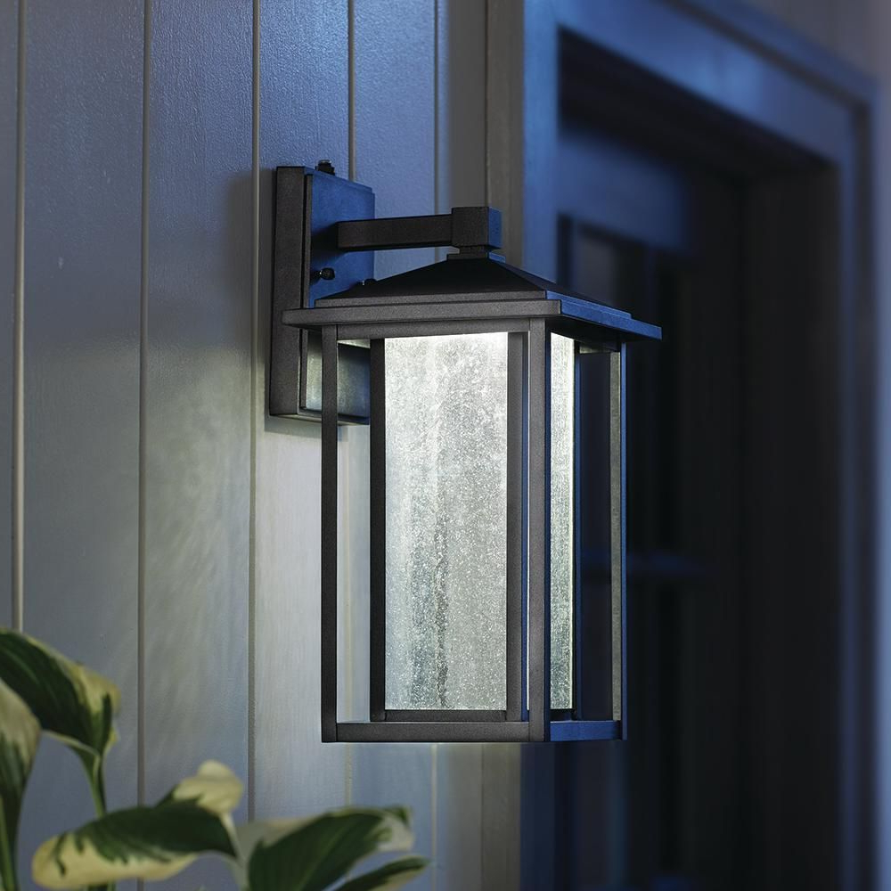 Newest Garten & Terrasse Decken  & Wandleuchten Home Decorators Intended For Manteno Black Outdoor Wall Lanterns With Dusk To Dawn (View 10 of 15)