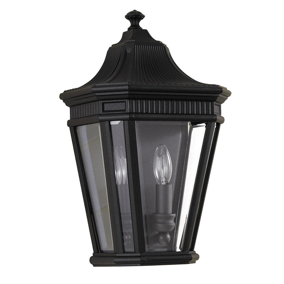 Newest Rockmeade Black 11'' H Outdoor Wall Lanterns For Buy Cotswold Lane Outdoor Flush Wall Lanternfeiss (View 8 of 15)