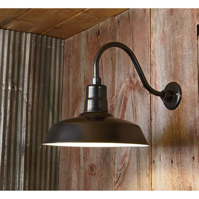 Npower Multi Mount Warehouse Barn Light — 12in (View 3 of 15)