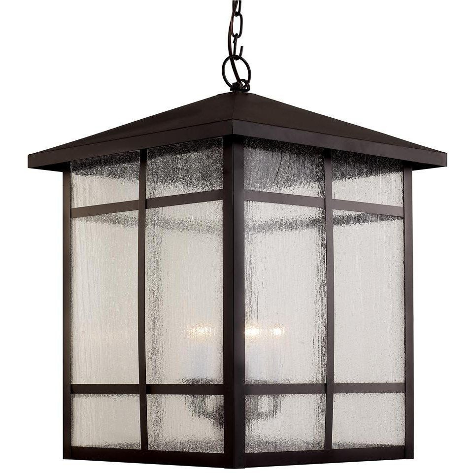 Outdoor Hanging Lanterns Intended For Favorite Tilley Olde Bronze Water Glass Outdoor Wall Lanterns (View 2 of 15)