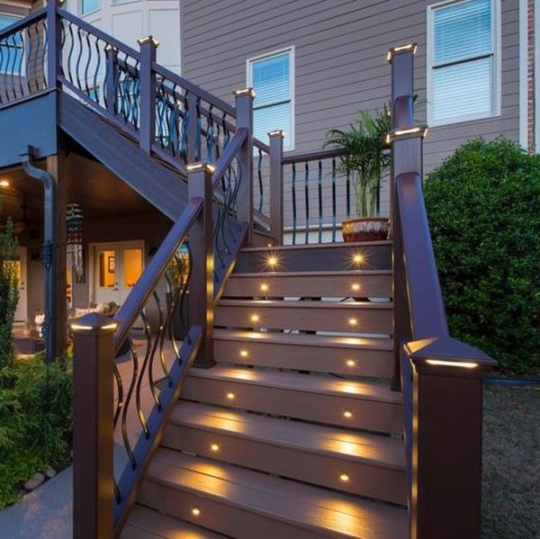 Outdoor Stairs, Outdoor Stair Lighting With Recent Vera Outdoor Wall Lanterns (View 15 of 15)
