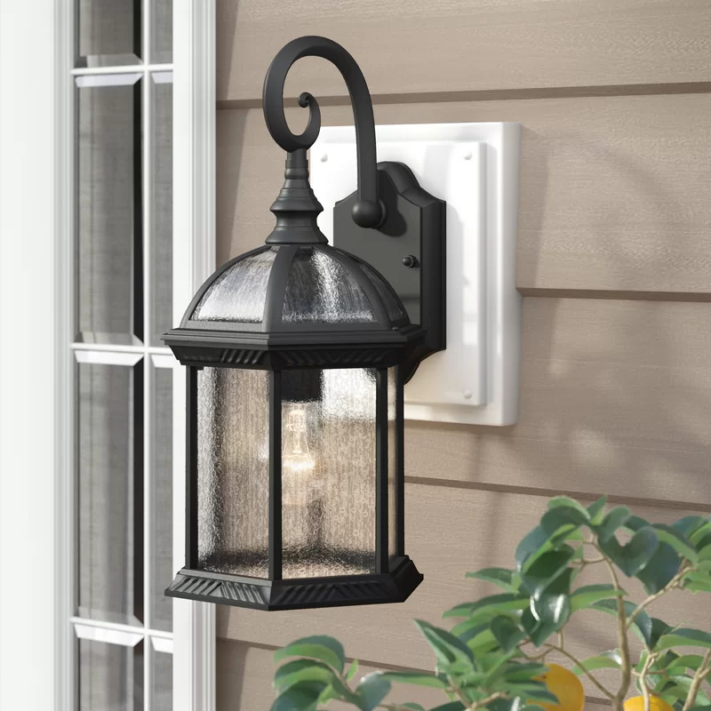 Outdoor Wall Lantern, Wall Throughout Most Up To Date Aleena  (View 8 of 15)