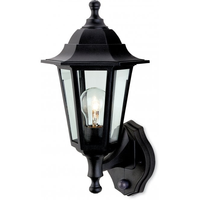 Palma Black/clear Seeded Glass Outdoor Wall Lanterns In 2018 Firstlight 8401bk Malmo Single Light Outdoor Wall Lantern (View 11 of 15)