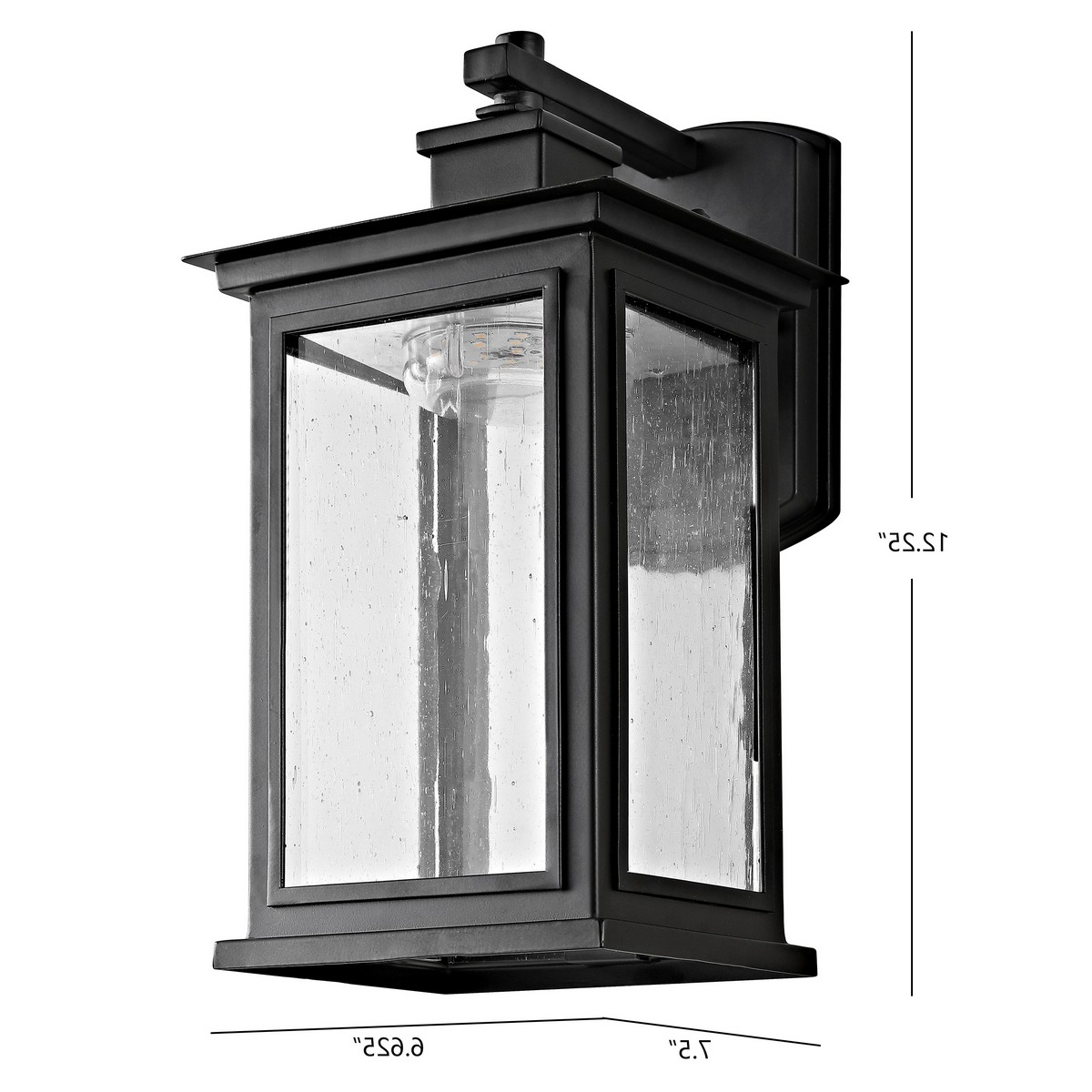 Plt4003a Outdoor Lighting – Lightingsafavieh In Most Recent Brierly Oil Rubbed Bronze/black 12'' H Outdoor Wall Lanterns (View 7 of 15)
