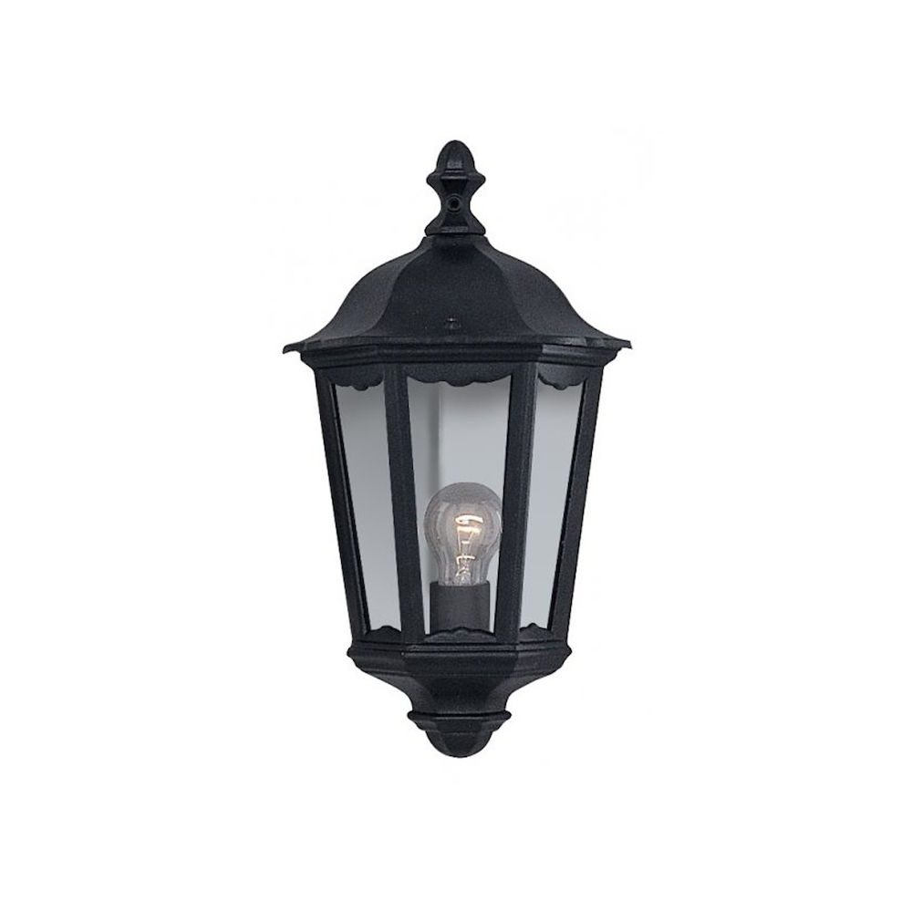 Featured Photo of Armanno Matte Black Wall Lanterns