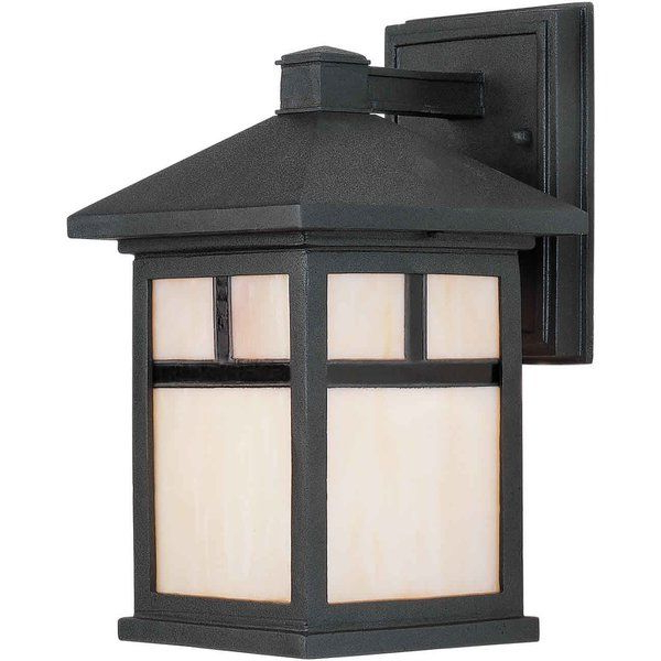 Featured Photo of Clarisa Seeded Glass Outdoor Barn Lights with Dusk to Dawn