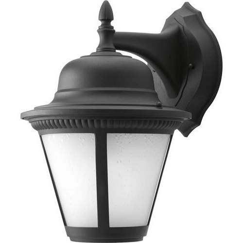 Powell 15.38'' H Outdoor Wall Lanterns Within Famous Progress Lighting Westport Led  (View 9 of 15)