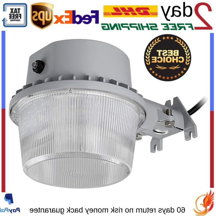 Preferred Outdoor Led Barn Security Light Dusk To Dawn Waterproof Intended For Gunnora Outdoor Barn Lights With Dusk To Dawn (View 5 of 15)