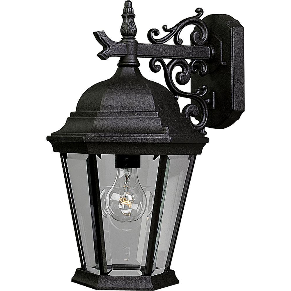 Progress Lighting Welbourne Collection 1 Light Outdoor Regarding Most Recently Released Ciotti Black Outdoor Wall Lanterns (View 2 of 15)