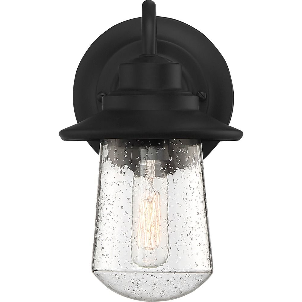 Quoizel Lighting Radford Matte Black Outdoor Wall Light With Newest Socorro Black  (View 14 of 15)