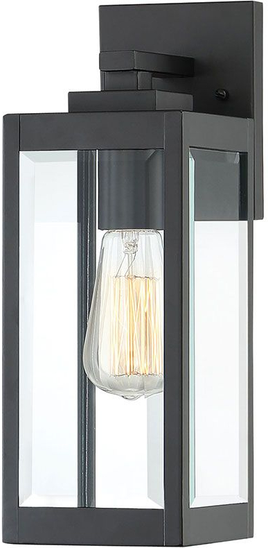 Quoizel Wvr8405ek Westover Modern Earth Black Outdoor 5 Throughout Widely Used Ainsworth Earth Black Outdoor Wall Lanterns (View 12 of 15)