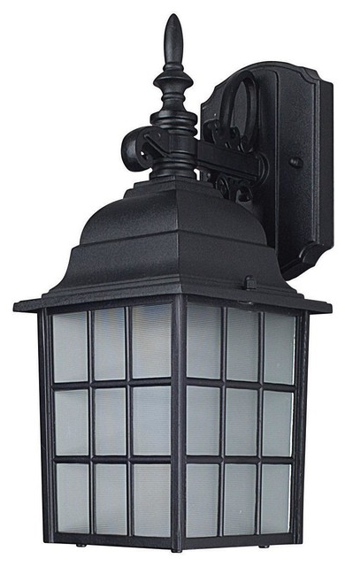 Recent Castellanos Black 14.25'' H Outdoor Wall Lanterns Pertaining To Sunset Lighting F7918 31 Outdoor  (View 15 of 15)