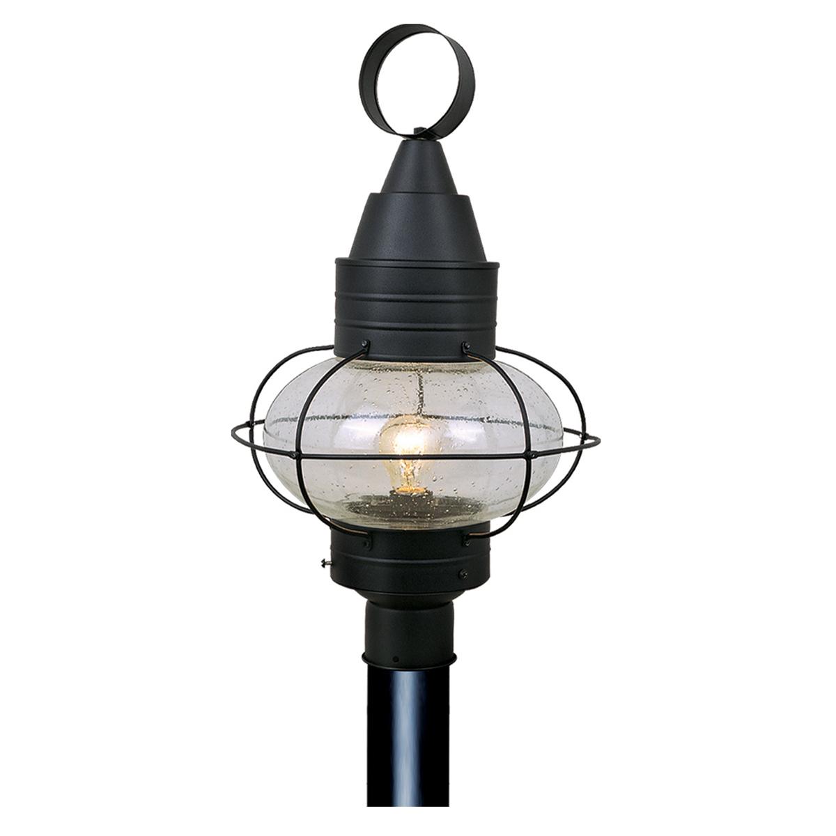 Recent Chatham Black Outdoor Post Light Regarding Borde Black  (View 4 of 15)