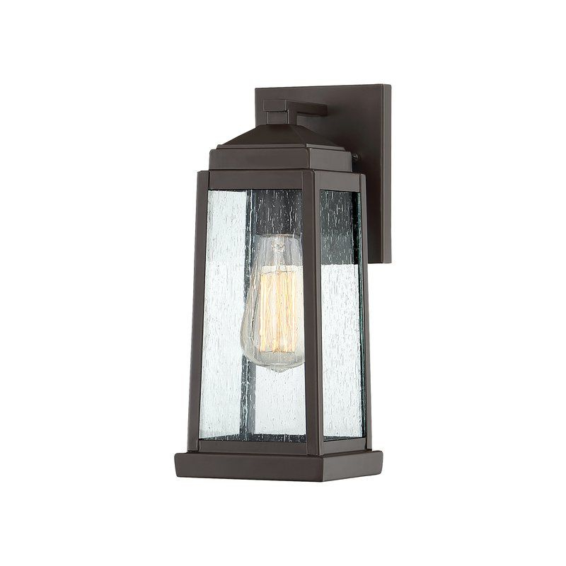 """Recent Endres Outdoor Wall Lantern. 12,5""""h X 5.25""""w X 6.25""""d For Carner  (View 5 of 15)"""