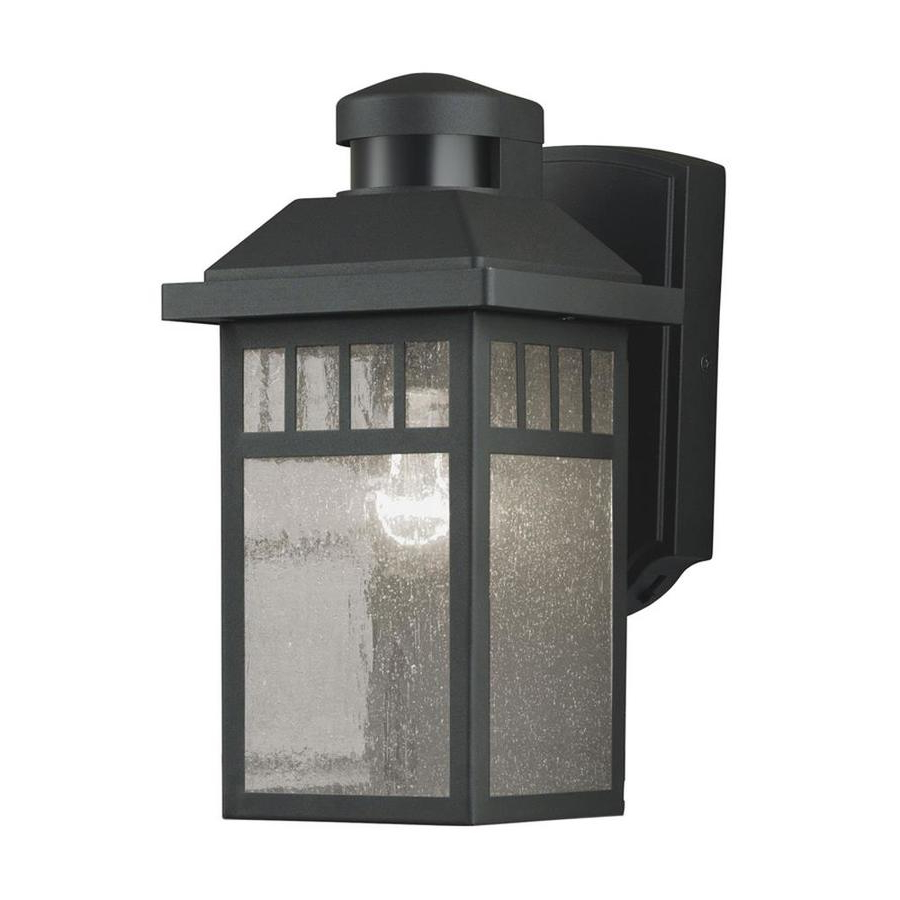 Featured Photo of Rockmeade Black 11'' H Outdoor Wall Lanterns