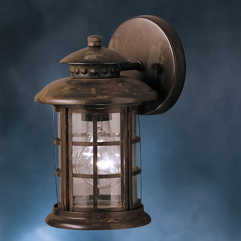 Rustic 1 Light Outdoor Wall Lantern (View 9 of 15)