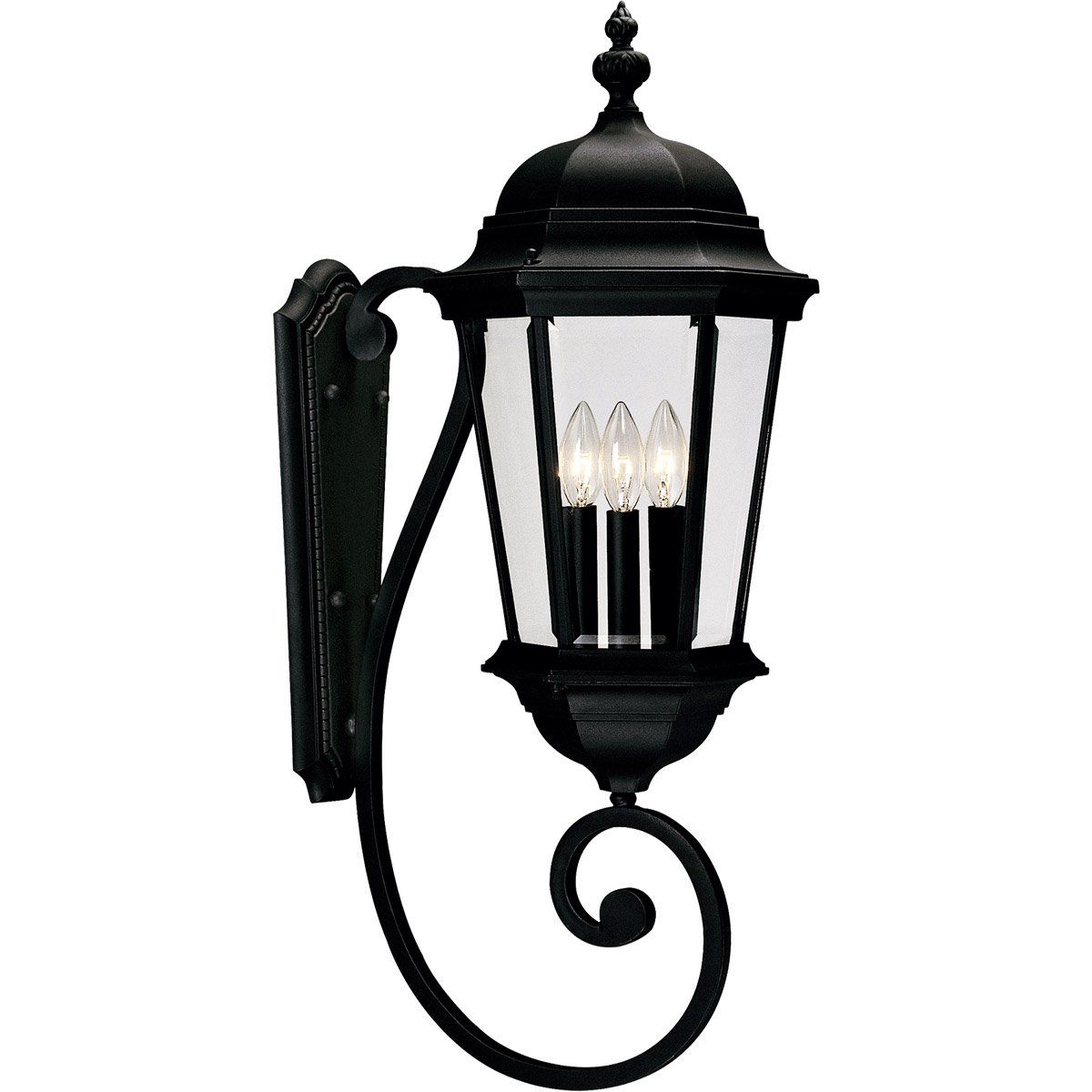 Savoy House Lighting 5 1300 Bk Wakefield 3 Light 31 Inch In Well Known Walland Black  (View 12 of 15)