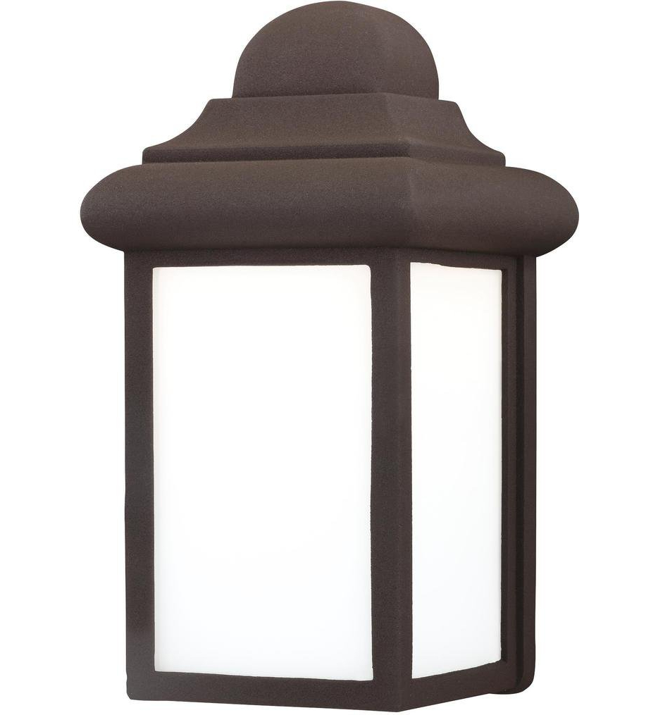"""Sea Gull Lighting – Mullberry Hill 8.75"""" Outdoor Wall In Favorite Carner  (View 7 of 15)"""