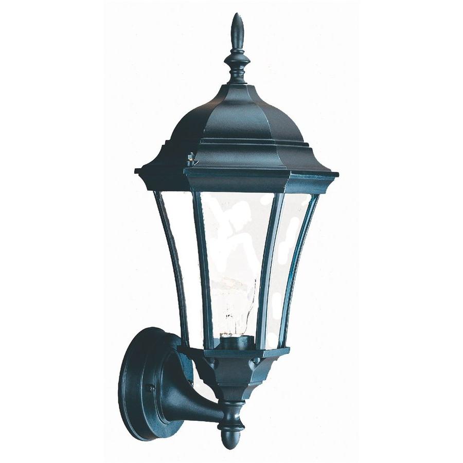 Shop Acclaim Lighting Brynmawr 15 In H Matte Black Medium Intended For Well Liked Bellefield Black 15'' H Outdoor Wall Lanterns (View 2 of 15)