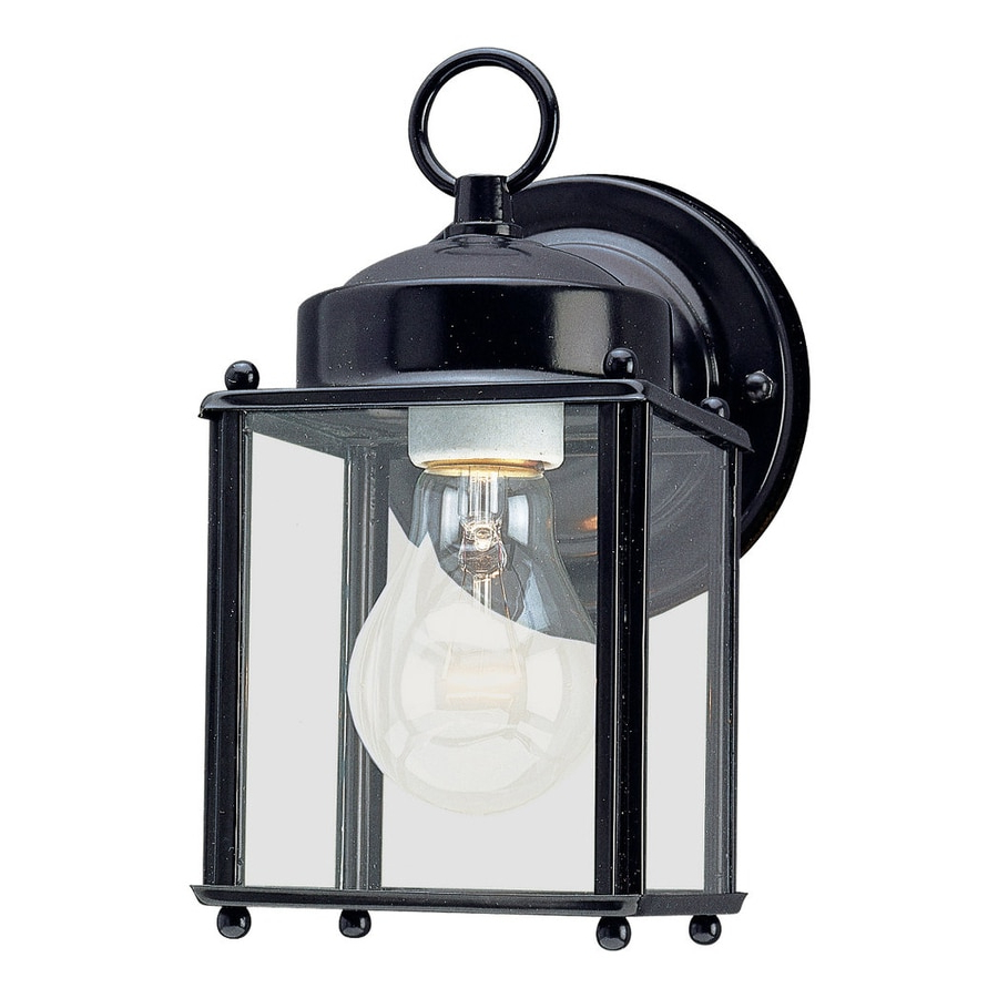 Featured Photo of Socorro Black 8.25'' H Outdoor Wall Lanterns