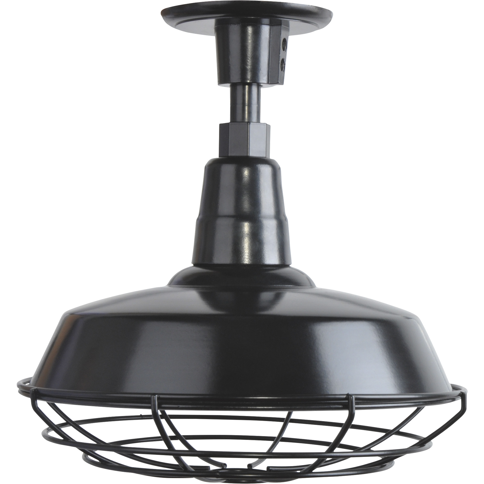 Strongway Multi Mount Outdoor/indoor Barn Light — 12in For Latest Rickey Black Outdoor Barn Lights (View 11 of 15)