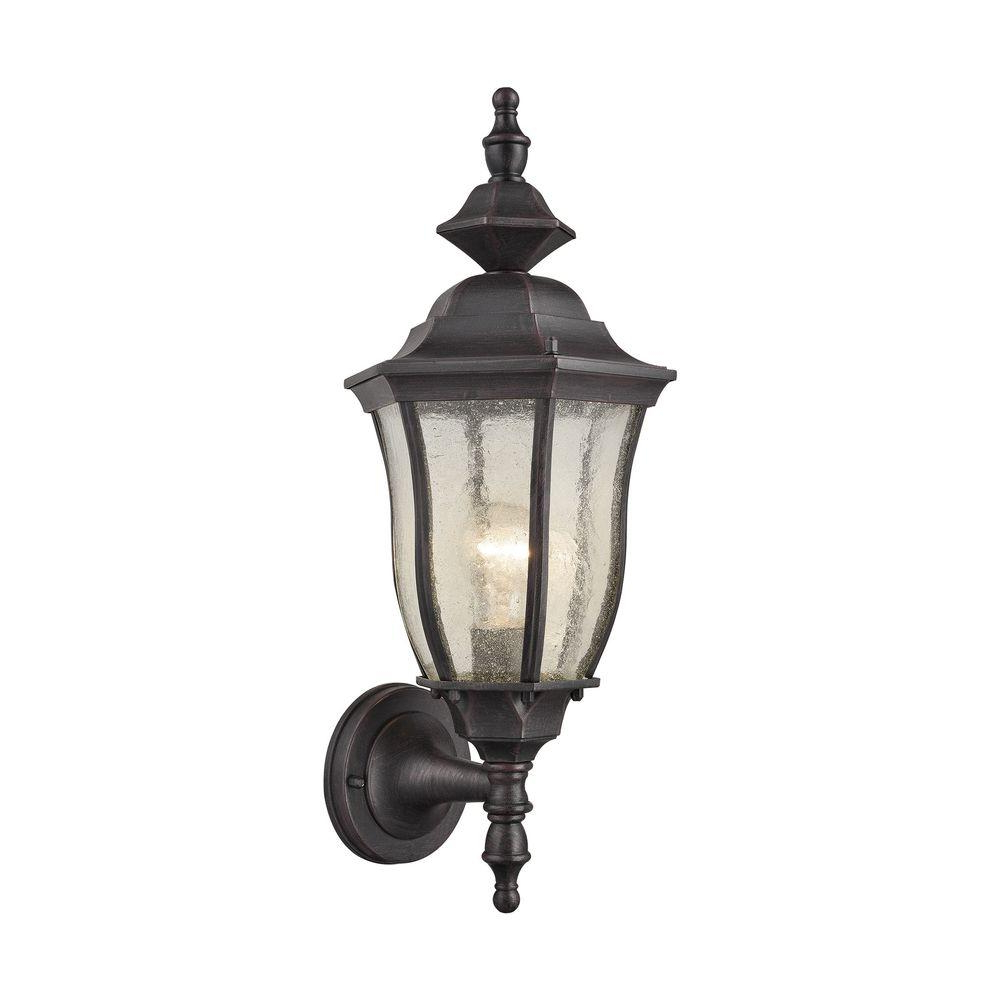 Titan Lighting Portside Outdoor Matte Black Wall Sconce Tn Pertaining To 2018 Keiki Matte Black 11'' H Outdoor Wall Lanterns (View 2 of 15)