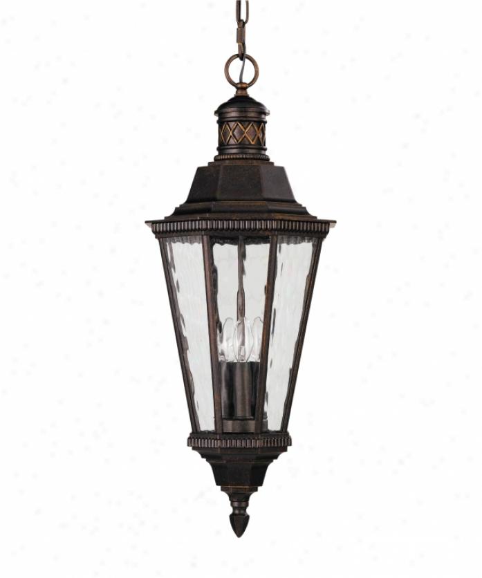 Trendy Hanover Lantern B154fsmabsjc3 Merion Medium 3 Light Regarding Bayou 17'' H Beveled Glass Outdoor Wall Lanterns (View 12 of 15)