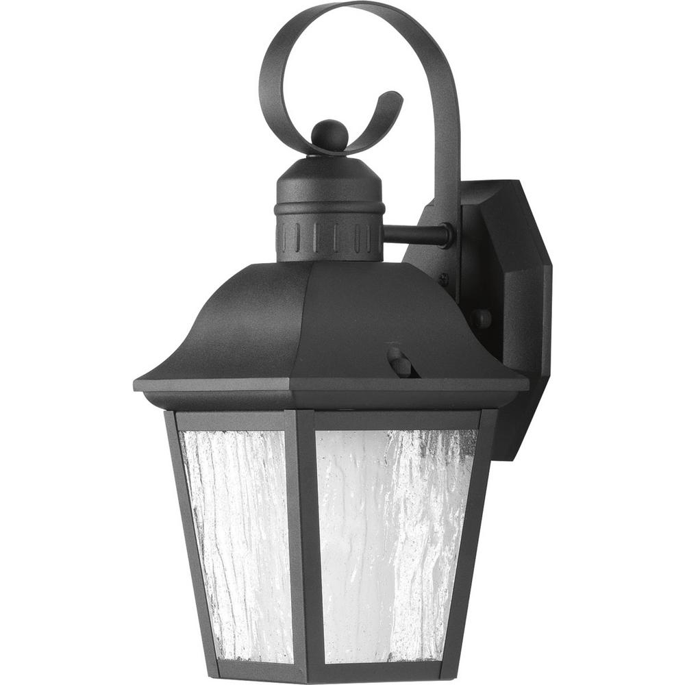 Trendy Progress Lighting Andover Collection 1 Light 13.4 In In Black  (View 10 of 15)