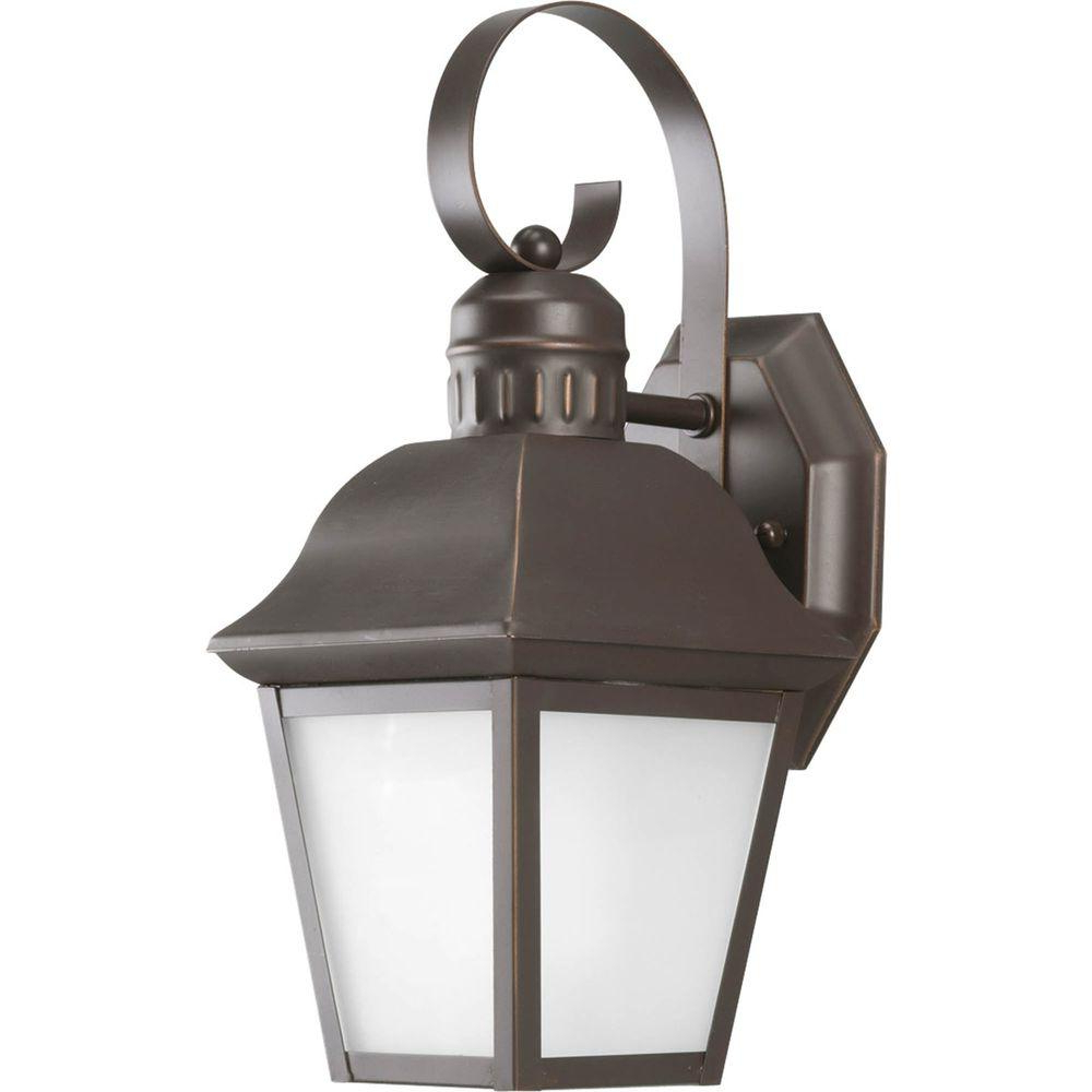 Trendy Progress Lighting Andover Collection Wall Mount Outdoor In Tangier Dark Bronze Wall Lanterns (View 12 of 15)