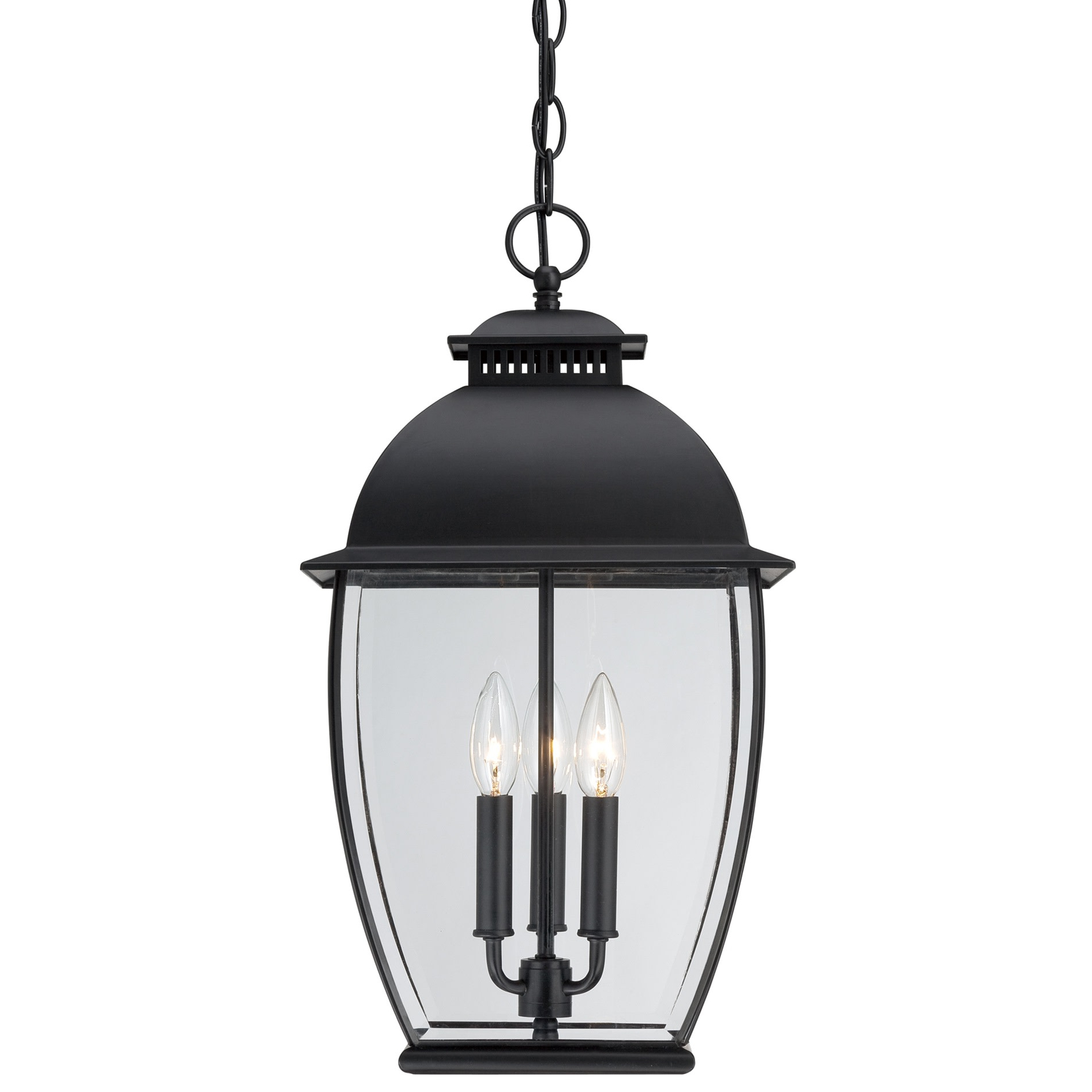 Featured Photo of Roden Black 3 Bulb Outdoor Wall Lanterns