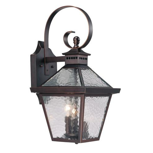 Turcot 12'' H Wall Lanterns For Most Current Acclaim Lighting Bay Street 21 In H Architectural Bronze (View 11 of 15)
