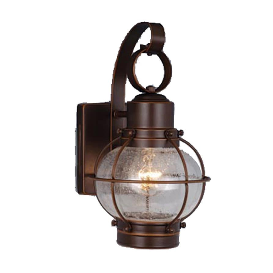 Turcot 12'' H Wall Lanterns In Favorite Shop Cascadia Lighting Nautical 12 In H Burnished Bronze (View 3 of 15)