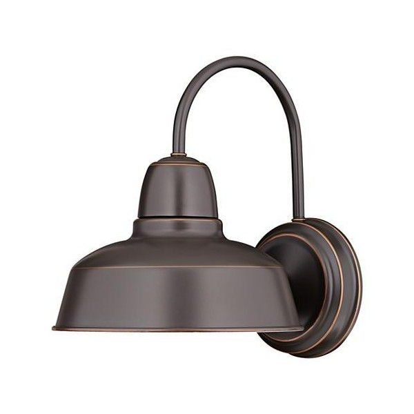 """Urban Barn Collection 13"""" High Bronze Outdoor Wall Light Within Favorite Lainey 13'' H Outdoor Barn Lights (View 15 of 15)"""