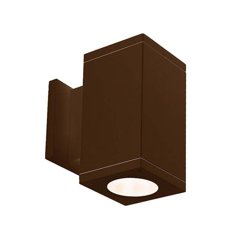 Wac Lighting Cube 1 – Bulb Outdoor Armed Sconce (View 10 of 15)