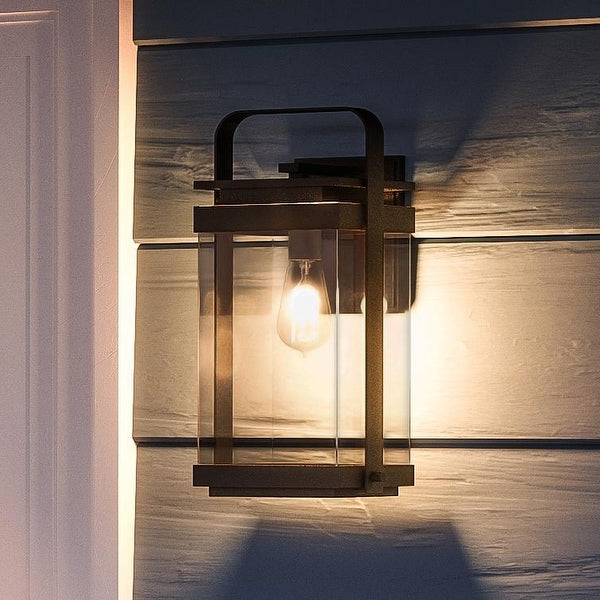 Walland Black 14.75'' H Outdoor Wall Lanterns For Famous Luxury Vintage Outdoor Wall Light,  (View 5 of 15)