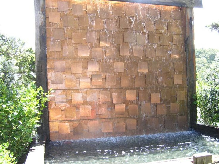 Water Feature Wall, Water Walls, Outdoor (View 5 of 15)